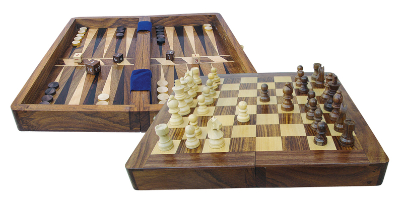 schach und backgammon spiel aus holz em nautic shop. Black Bedroom Furniture Sets. Home Design Ideas